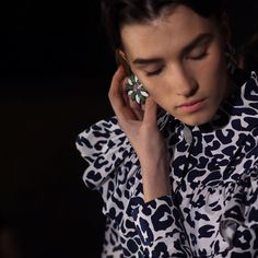 Paris Fashion Week In Focus - Backstage at Miu Miu Fall 2015-Wmag