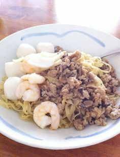 Singapore dry 'Mee Pok' noodles recipe. This is one of my major cravings when I crave for noodles.