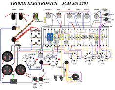 schematics \u0026 wiring modsmarshall jcm800 2204a 50w tube diy amp kit version 1