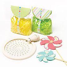 Decorative Pinwheels using @Martha Stewart Items!