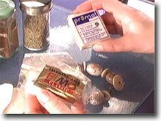 Comparaison de pâtes transparentes