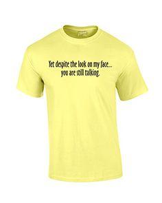 Yet Despite Look On My Face Funny T-Shirt-banana-small Trenz Shirt Company http://www.amazon.com/dp/B00EOZ2370/ref=cm_sw_r_pi_dp_VNvswb15Z5A97