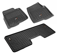 Rugged Ridge AllTerrain 8298921 Black Front and Rear Floor Liner Kit For Select Ford F150 Models -- You can get additional details at the image link. (This is an affiliate link) #CarInteriorDesign