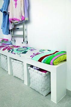 Tip: Uundværlig siddepladsByg en praktisk siddebænk i badeværelset (eller entreen?) af gasbeton og brug den til både...