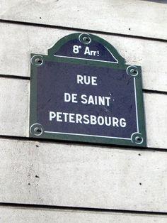 La rue de Saint-Péterbourg  (Paris 75008)