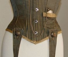 steampunk corset pattern free   Steampunk Underbust Corset