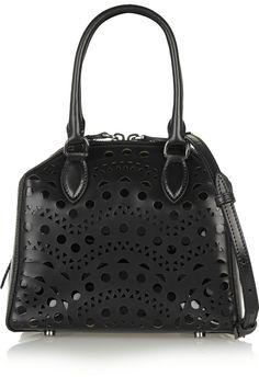967e3f1d74c7 Alaïa - Vienne mini laser-cut leather shoulder bag