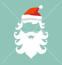 Santa claus hipster fashion style vector - by Roman84 on VectorStock®