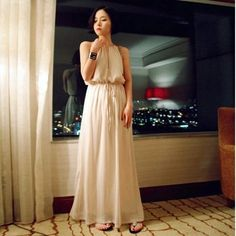 Spring and summer new fashion style halter chiffon dress bohemian summer womens sexy dresses party night club dress