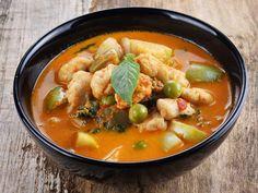 Curry de Gambas au Porc (Madagascar) : Recette de Curry de Gambas au Porc (Madagascar) - Marmiton