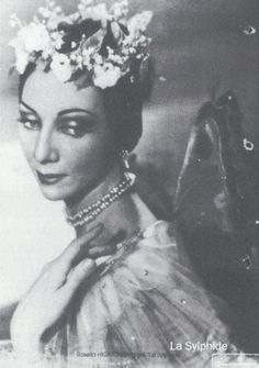 Rosella Hightower - famous Native American ballerina.