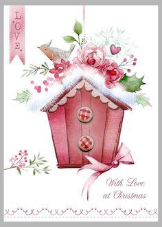 Victoria Nelson - Christmas Birdhouse Copy
