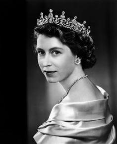 Queen Elizabeth II portrait 1946