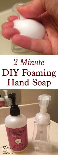 Have you been looking for easy and cheap DIY projects to try? Well look no further than this DIY Foaming Hand Soap. It's perfect for the bathroom, kitchen or really at any sink in your house. And I have a secret tip to share with you...it's simple enough for the teens and even kids in your home to make! I just love fabulous ideas don't you!