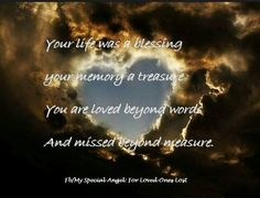 Angelversary | Ramblings Of A Broken Hearted Mummy