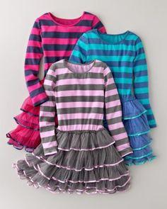 Tulle-Skirted Knit Dress - Baby Girls & Girls