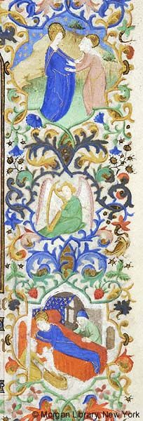 Book of Hours, MS M.453 fol. 31r - Images from Medieval and Renaissance Manuscripts - The Morgan Library & Museum