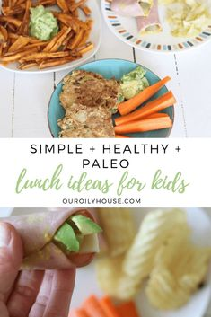 Check out these simple and healthy lunch ideas for kids. Kid approved lunches with hidden vegetables! Paleo school lunch ideas for kids on the go. Clean Eating Recipes, Lunch Recipes, Paleo Recipes, Whole Food Recipes, Easy Recipes, Paleo Kids, Whole 30 Lunch, Healthy Groceries, Healthy Meals