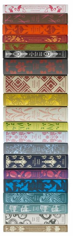 Love these clothbound Penguin classics.