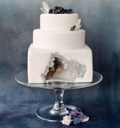 Geode cake!