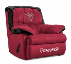 Baseline Tampa Bay Buccaneers Home Team Recliner