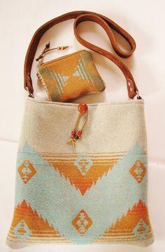 f3721740b652 Pendleton Wool Shoulder Bag in Native American Weave