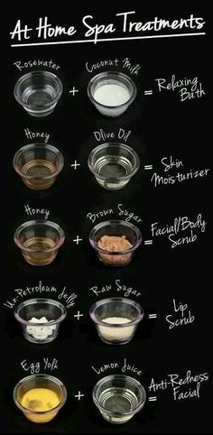 DIY beauty secrets- DIY Spa Treatments and Facial Scrubs