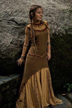 But shorter, for the desert elf (Dawn) so she can kick