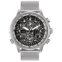 Citizen Men's Stainless Steel Eco-Drive Navihawk A-T Mesh Bracelet Watch Mesh Bracelet, Bracelet Watch, Bracelets, Citizen Watches, Diamond Jewelry, Stainless Steel, Earrings, Accessories, Diamond Jewellery