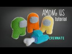 There's an Imposter, Among Us! Do you know who? Well guys, it's my latest free crochet pattern, an Among Us Amigurumi from the popular social game! Crochet Ornament Patterns, Crochet Amigurumi Free Patterns, Crochet Animal Patterns, Crochet Patterns Amigurumi, Crochet Teddy, Crochet Yarn, Crochet Gratis, Free Crochet, Holiday Crochet