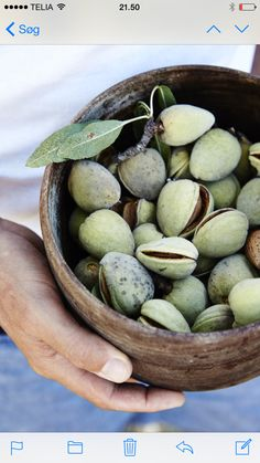 Almonds!