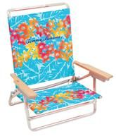 Tommy Bahama Classic 5 Position Beach Chair - Floral
