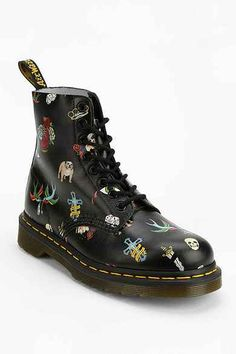 omg ANA GET THEM! Dr. Martens Tattoo 8-Eye Boot