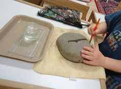 Prewriting - Rock Painting
