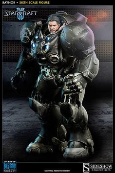 StarCraft II figurine Raynor Sideshow Collectibles