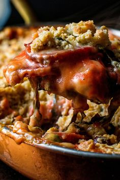 Beet, Greens and Cheddar Crumble Recipe - NYT Cooking Vegetarian Thanksgiving, Thanksgiving Casserole, Thanksgiving Recipes, Vegetarian Comfort Food, Vegetarian Meals, Slow Cooker, Crumble Recipe, Sandwiches, Grilled Sausage