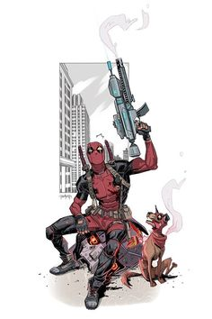 Deadpool by Dan Mora