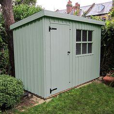 Garden Sheds John Lewis 1.8 x 3.0m oxburgh shed | casa de dotson | pinterest | batten
