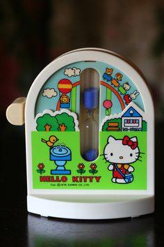 Hello Kitty Egg Timer ~ 1976 ~ Etsy
