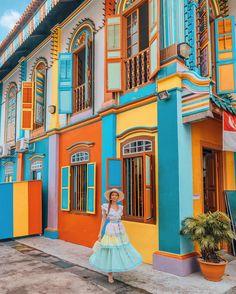 Von all den Orten, die ich besucht habe, ist Singapur vielleicht das … – Of all the places I've visited, Singapore may be the … – Singapore Travel Tips, Singapore Itinerary, Singapore Photos, Visit Singapore, Haji Lane Singapore, Wanderlust Singapore, Singapore Outfit, Singapore Sling, Singapore Fashion