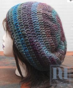 free crochet hat patterns for women | ... free crocheted hat pattern from PdDesigns on Craftsy! Here's how to