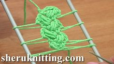 Crochet Braid On Hairpin Loom How to Tutorial 10 Crochet Puff Stitches
