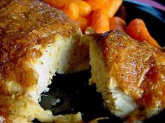 Worlds Best Recipes: Melt in Your Mouth Chicken Breasts.  Can substitute 1 C of plain greek yogurt for the mayo.