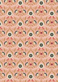 Chieveley Fabric InspirationInspired by the opulence of a grand country house.This sumptuous collection has metallic elements in copper and gold …. 'Chieveley'The Fabric & pre-shrunk cotton with a light Schreiner finish making it soft and sil Digital Ink, Digital Prints, Etsy Fabric, Bloom Where Youre Planted, Metallic Prints, Floral Prints, Thing 1, Surface Pattern Design, Pink And Gold