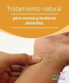 Tratamiento natural para manos y muñecas doloridas Al congelar el aloe vera, además de aprovechar sus propiedades antiinflamatorias, también nos beneficiamos de los efectos calmantes del frío, que nos ayudarán a calmar el dolor
