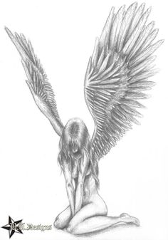 fallen angel drawings - Google Search