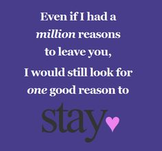 Stay<3
