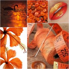 Colores: Naranja by Olaya (TaconesConGracia), via Flickr