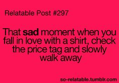 that sad, sad moment