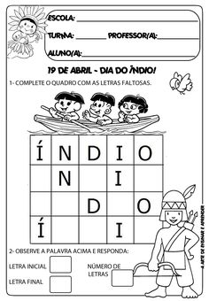 Politics, India, Kids, Lucca, 1, English, Abc Centers, Language Activities, Letter I